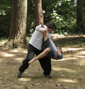 Bagua Zhang Throwing technique